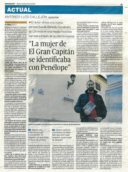 Antonio Callejón GranadaHoy
