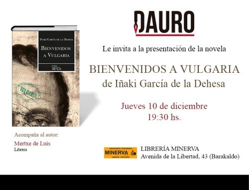 BIENVENIDOS A VULGARIA_invitacion dic