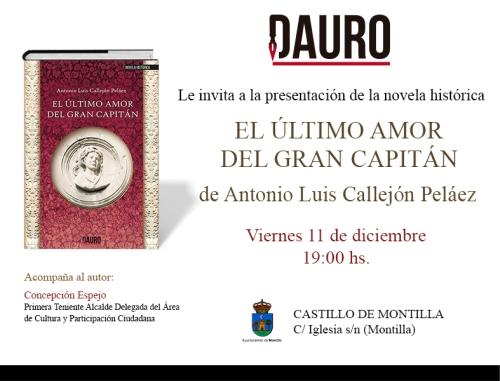 EL ÚLTIMO AMOR_invitacion Montilla