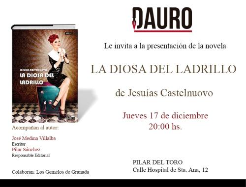 LA DIOSA DEL LADRILLO_invitacion