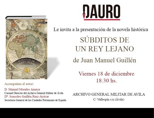 SÚBDITOS_invitación Ávila