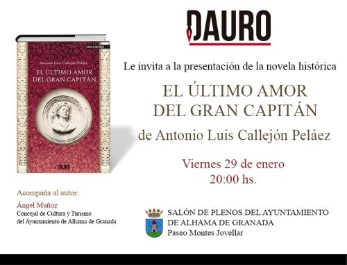 EL ÚLTIMO AMOR_invitacion Alhama
