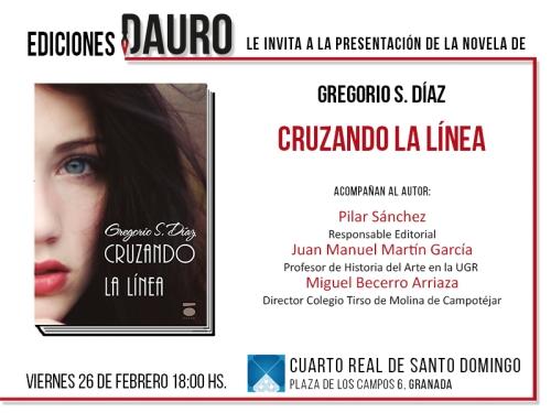 CRUZANDO LA LINEA_invitación