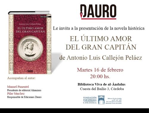 EL ÚLTIMO AMOR_invitacion Cordoba
