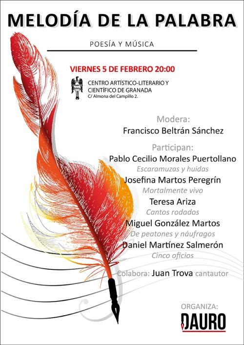 MELODÍA DE LA PALABRA 05-02-16_poster