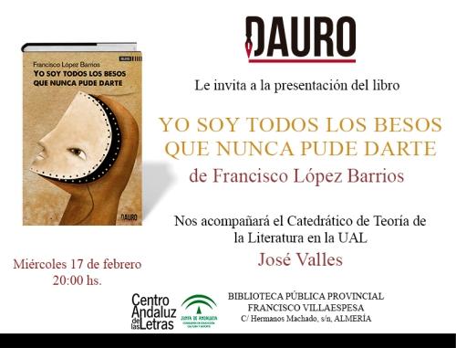 YO SOY TODOS LOS BESOS_invitación Almería