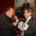 Baldomero Oliver y José Miguel Montalban