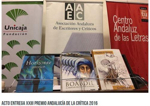 acto entrega premios andalucia critica 2017