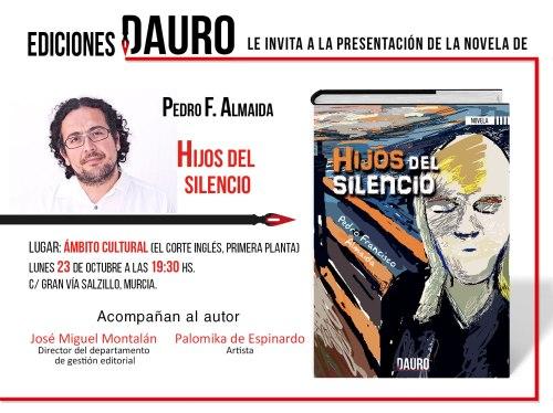 La novela de Pedro F. Almaida Hijos del silencio